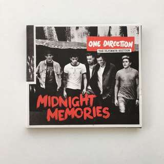 One Direction the ultimate edition - midnight memories CD