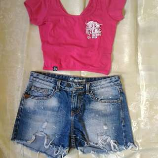 Denim Shorts (Top Not Included)