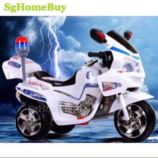 In-stock - Cool Police electric kids bike