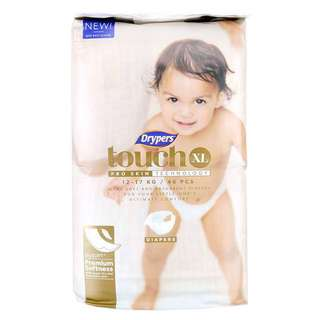 Drypers Touch Diapers XL