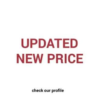 #TGIF Updated Price