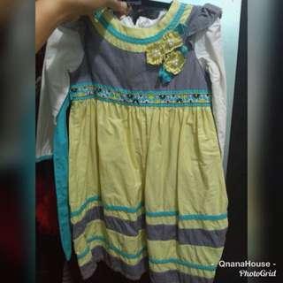 Baju muslimah gamis anak balita