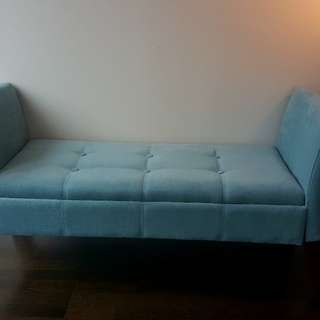 Side Sofa with Storage