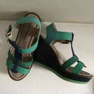 Original Hush Puppies Wedge Shoes Size 6