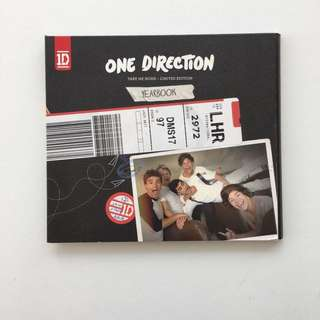 One Direction take me home - limited edition yearbook CD