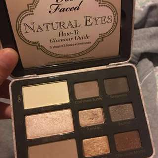 Too Faced - Natural Eyes Palette