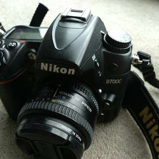 D7000 with 50mm 1.8