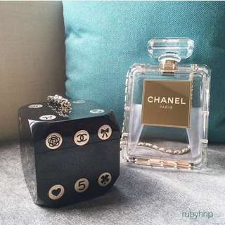 Chanel Acrylic Clutch