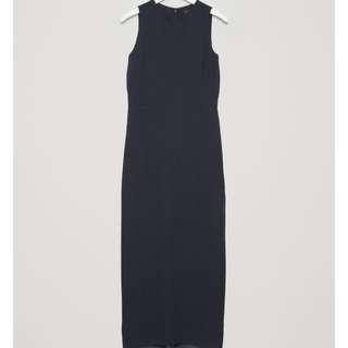COS elegant blue floor length dress XS