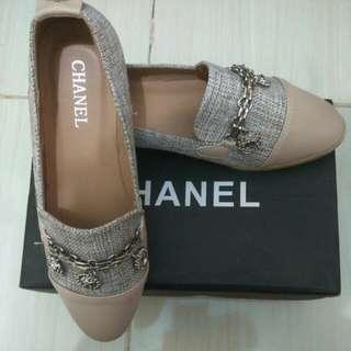 Flatshoes chan*l size 38