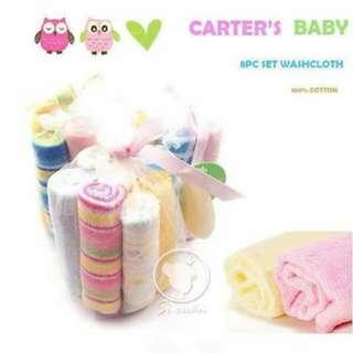 Carter's 8pc Wash Cloth