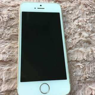 iPhone 5s 16g, white and gold