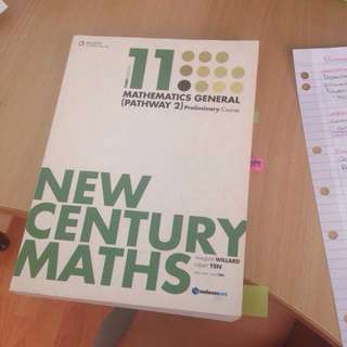 NOW $5 GENERAL MATHS TEXTBOOK