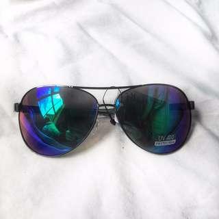 NEW Aviator Reflective Sunglasses
