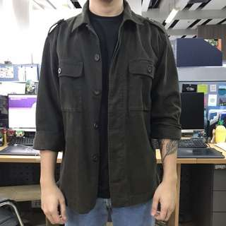 Army Green Jacket (M/L)
