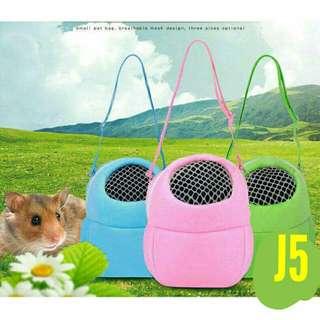 Hamster guinea pig bag carrier