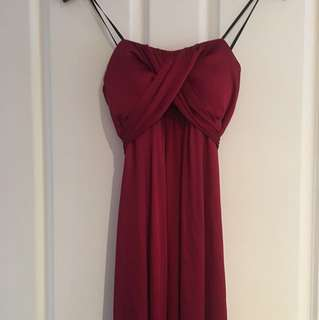 Long Formal dress Sz 8 Mari Gourlay BNWT