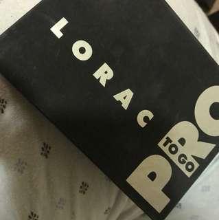 Lorac pro to go eyeshadow palette bronzer and blush