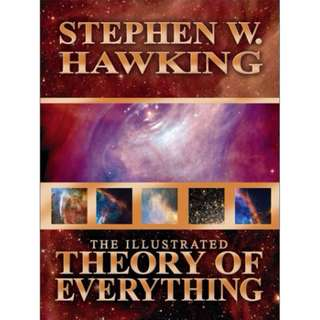 Stephen Hawking Books - A brief history of time A Briefer History of Time Illustrated Theory of Everything The Grand Design