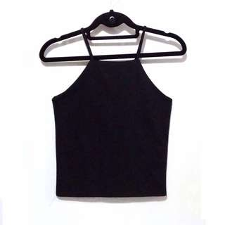 Black Halter Top