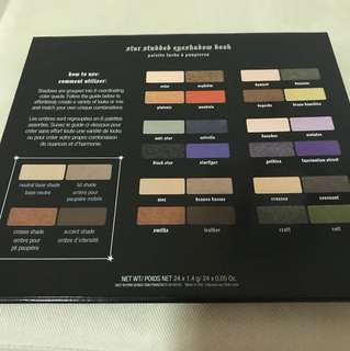 Kat von d eyeshadow palette star studded book
