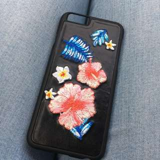 (NEW) Embroidery iPhone 6 Case