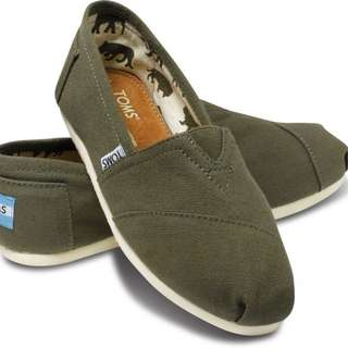 Toms - Slip On Canvas Shoes - Size 37