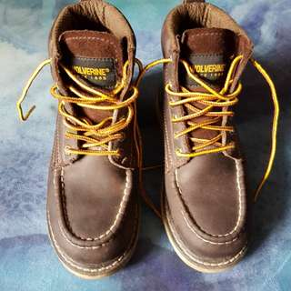 Wolverine - Leather Hiking Boots - Size 35
