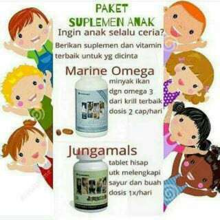 Marine omega & jungamals