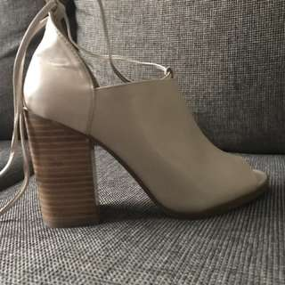 Brand New (unworn) Open Toe Booties