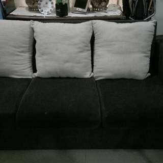 Sofa dark brown