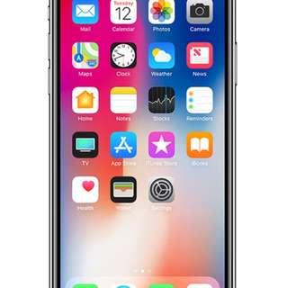 iPhoneX 256gb 灰 x2 全新未拆