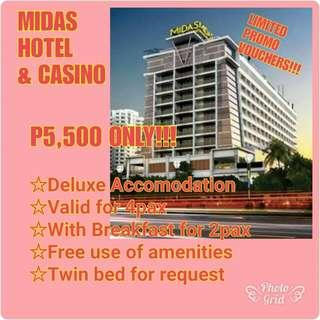 MIDAS HOTEL & CASINO VOUCHERS!!!