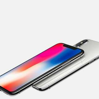 Iphone X Silver 64gb & 256gb