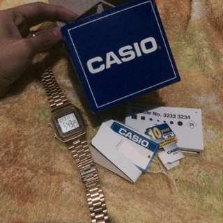 Casio Authentic Gold