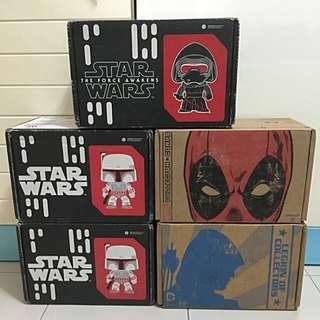 Star Wars / DC / Marvel Subscription Boxes