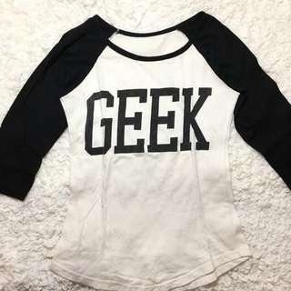 Geek 3/4 Top