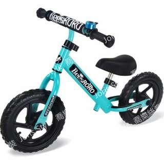 德國品質--煞車款==兒童雙輪12吋平衡車/滑步車