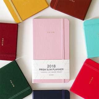 INDIGO 2018 Prism Slim Planner / Date Type