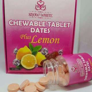 SNOW WHITE CHEWABLE TABLET - 30 tablets