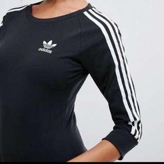 Adidas originals stripe maxi dress 洋裝