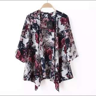 (NEW - Import Bkk) Floral Outer
