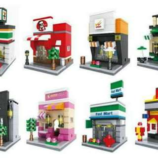 Sembo Blocks (Various Shops or design)