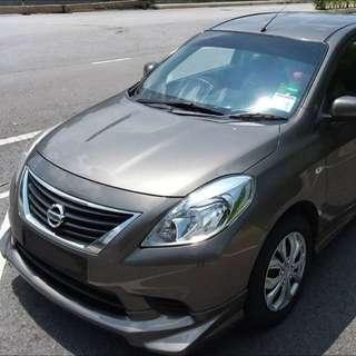 Almera 1.5 Auto Car Rental / Kereta Sewa