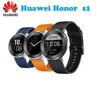 全新!  運動智能手錶 huawei honor s1