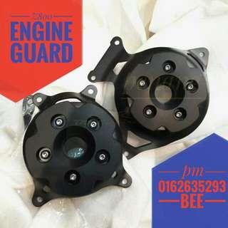 Z800 engine guard