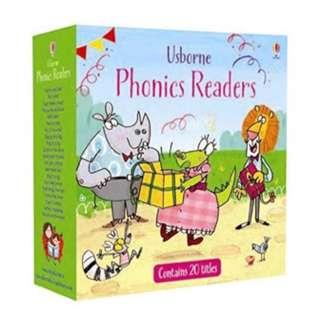 Usborne Phonics Readers Boxset