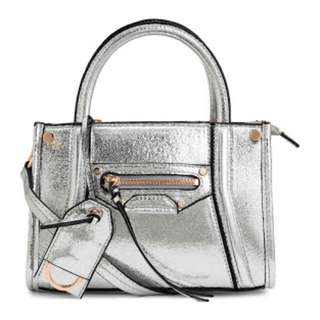 Small bag in silver