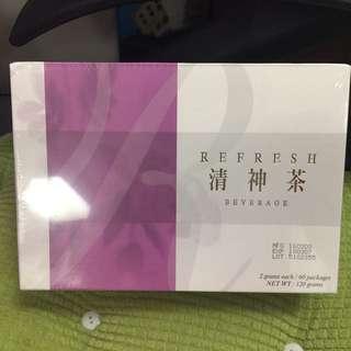 全新 原價HK$400 健康食品 Refresh 清神茶