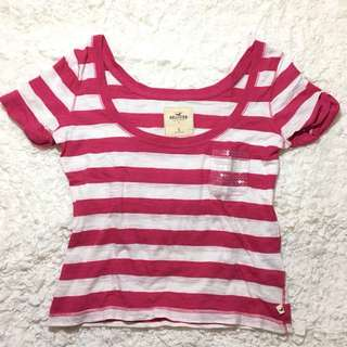 Hollister Stripes Crop Top